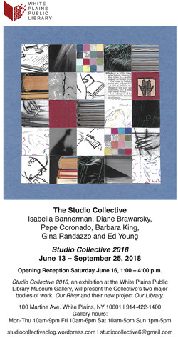 Studio Collective 2018, White Plains Public Library Gallery